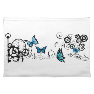 Steampunk Tribal Butterflies Placemat