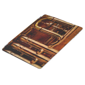 Steampunk Trumpet Parts iPad Cover