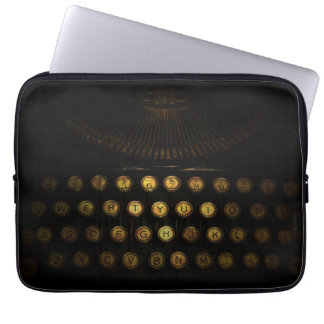 Steampunk Typewriter Macbook Sleeve