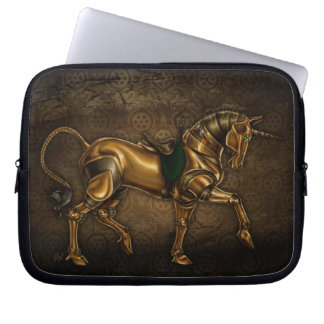Steampunk Unicorn Laptop Sleeve