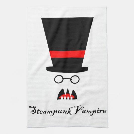 Steampunk Vampire Kitchen Towel