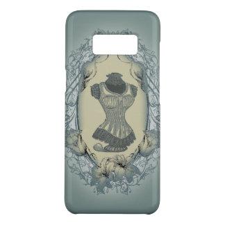 steampunk victorian floral wreath vintage corset Case-Mate samsung galaxy s8 case