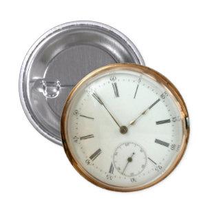 Steampunk Vintage & Historic Theme 1 Inch Round Button