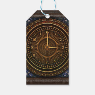 Steampunk Vintage Old-Fashioned Copper Clockwork Gift Tags