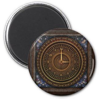Steampunk Vintage Pocket watch Clock Magnet