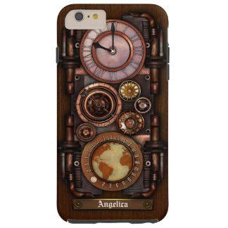 Steampunk Vintage Timepiece #1B Tough iPhone 6 Plus Case