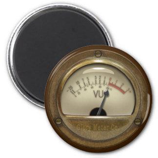 Steampunk VU Meter Magnet