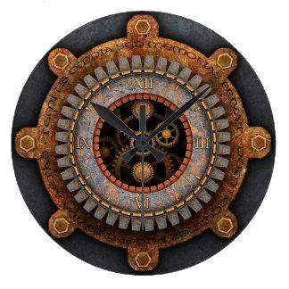 Steampunk Wall Clock #2A