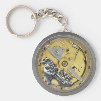 Steampunk Watchworks Key Keeper Keychain