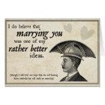 Steampunk Wedding Greeting Cards