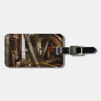 Steampunk - Wheels of progress Luggage Tag