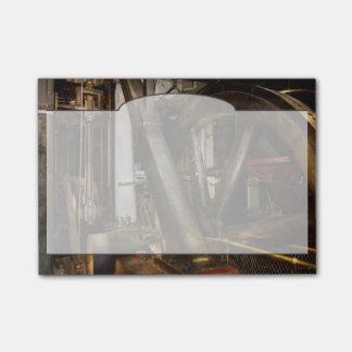 Steampunk - Wheels of progress Post-it Notes