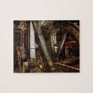Steampunk - Wheels of progress Puzzle