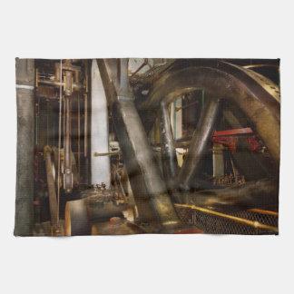 Steampunk - Wheels of progress Towels