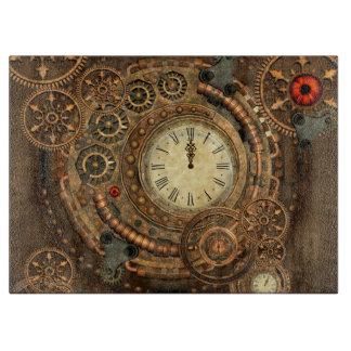 Steampunk, wonderful clockwork cutting board