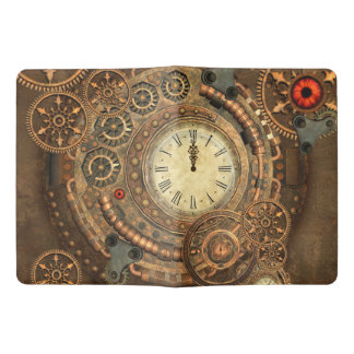 Steampunk, wonderful clockwork extra large moleskine notebook