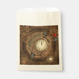 Steampunk, wonderful clockwork favour bag