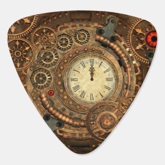 Steampunk, wonderful clockwork guitar pick
