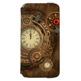 Steampunk, wonderful clockwork incipio watson™ iPhone 6 wallet case