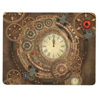 Steampunk, wonderful clockwork journal