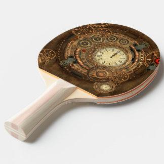 Steampunk, wonderful clockwork ping pong paddle