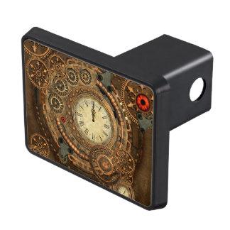 Steampunk, wonderful clockwork trailer hitch cover