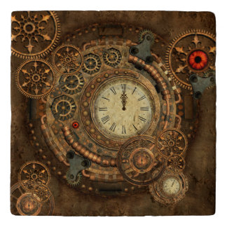 Steampunk, wonderful clockwork trivet