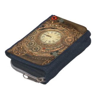 Steampunk, wonderful clockwork wallets