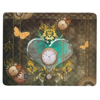 Steampunk, wonderful heart journal