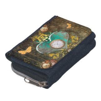 Steampunk, wonderful heart wallets