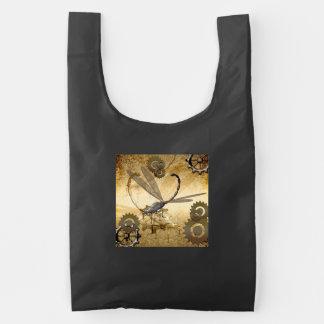 Steampunk, wonderful  steam dragonflies