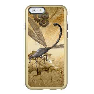 Steampunk, wonderful  steam dragonflies incipio feather® shine iPhone 6 case