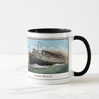 Steamship Greater Detroit Mug