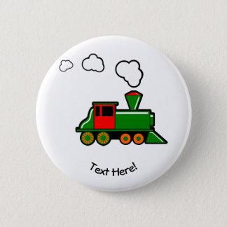 SteamTrain 2 Inch Round Button