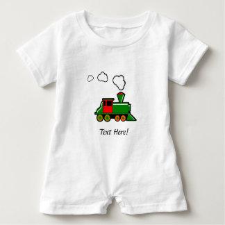 SteamTrain Baby Romper
