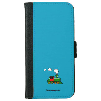 SteamTrain iPhone 6 Wallet Case