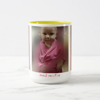 Steamy Good Morning Two-Tone Coffee Mug