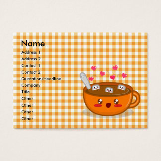 Steamy Hot Chocolate Profile Card