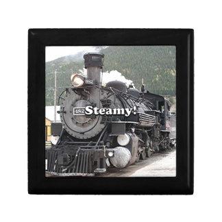 Steamy!: steam train engine, Colorado, USA 8 Gift Box