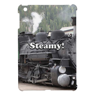 Steamy!: steam train engine, Colorado, USA Case For The iPad Mini