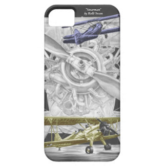 Stearman Biplane Cover For iPhone 5/5S