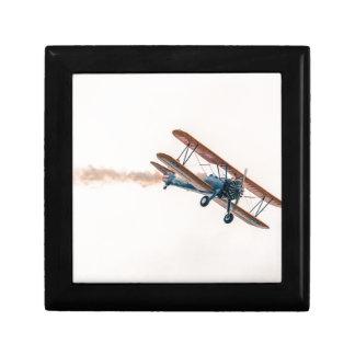 Stearman Pt-13d Double Decker Aircraft Fly Gift Box