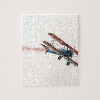 Stearman Pt-13d Double Decker Aircraft Fly Jigsaw Puzzle