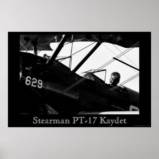Stearman PT-17 Kaydet Poster