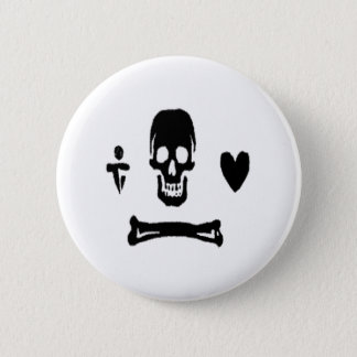 Stede Bonnet-Black 2 Inch Round Button