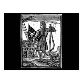 Stede Bonnet Pirate Portrait Post Cards