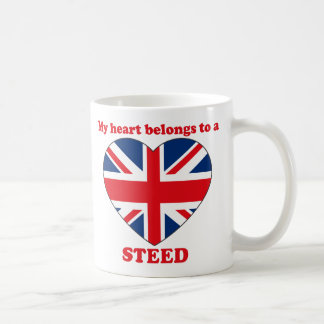 Steed Classic White Coffee Mug