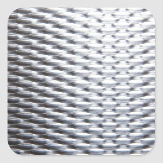 steel #16 square sticker
