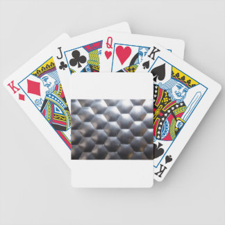 steel #3 bicycle playing cards