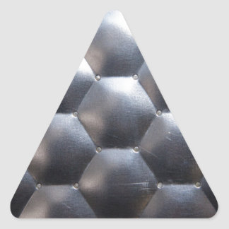steel #3 triangle sticker